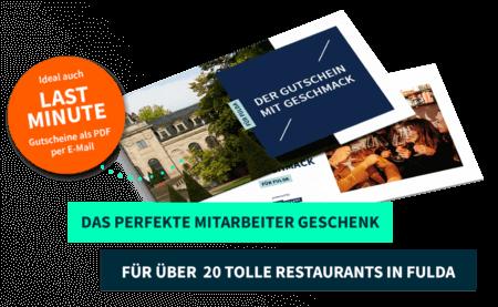 Firmenkunden Fulda PayNowEatLater Restaurant Gutscheine