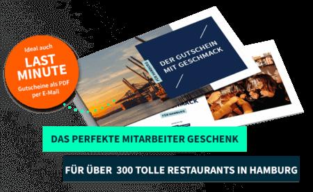 Mitarbeiterschenk Hamburg PayNowEatLater Restaurant Gutscheine