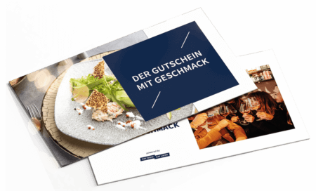 Restaurant-Geschenk-Gutschein PayNowEatLater Restaurant Gutscheine