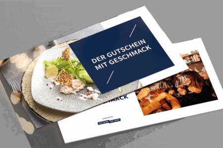 Restaurant Geschenk Gutschein Gutschein zum Aufladen in